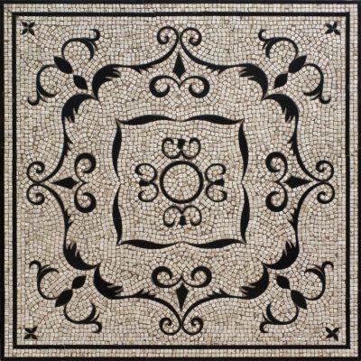 Medallion Adriano mosaic