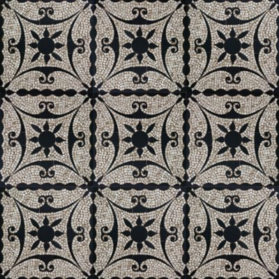 Tile Roman mosaic